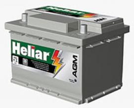 Bateria Heliar AGM AG 60HD