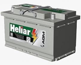 Bateria Heliar AGM AG 80KD