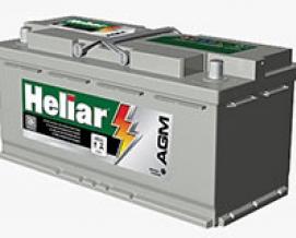Bateria Heliar AGM AG 105SD