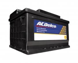 Bateria ACdelco 75ah 22A075D1 / 22A075E1